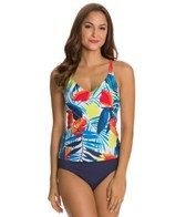 Jag A Week In Antigua Crossback Tankini Top