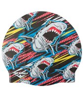 The Finals Flying Shark Silicone Swim Cap
