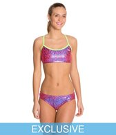 The Finals Funnies Droplet Foil Female 2 PC Work Out Bikini