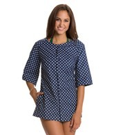 Girlhowdy Sandy Button Front Cover Up