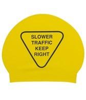 Sporti Slow Down Latex Swim Cap
