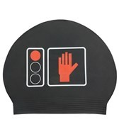 Sporti Stop and Swim Latex Swim Cap
