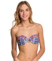 Roxy Northern Tribe Moulded Bandeau Top