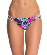 Roxy Tropical Daydream Reversible Strappy Mini Bikini Bottom