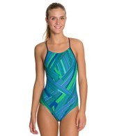 Sporti Linear Micro Back Swimsuit
