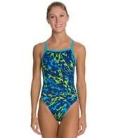 Waterpro Aurora Thin Strap One Piece Swimsuit