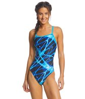 Waterpro Lightning Thin Strap One Piece Swimsuit