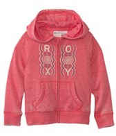 Roxy Girls' Fleece Zip Front Hoodie (2-7)