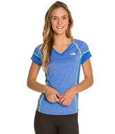 The North Face Women's Reactor V-Neck Running Short Sleeve