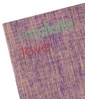 Affirmats I Radiate Love Mat