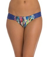 Aerin Rose Arcadia Side Shirred Hipster Bikini Bottom