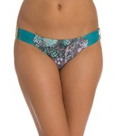 Aerin Rose Viper Ruched Back Hipster Bikini Bottom