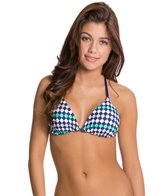 Splendid Mosaic Reversible Triangle Bikini Top