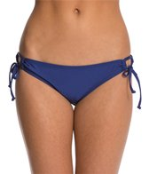 Splendid Sunblock Solid Tie Side Bikini Bottom
