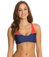 Splendid Sunblock Solid Sports Bra Top