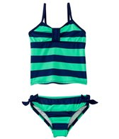 Splendid Girls' Marcel Stripe Tankini Set (4-6)