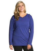 Balance Collection Plus Size Long Sleeve Hoodie