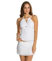 Nautica Grand Isle High Neck Tankini Top