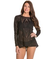 Luxe by Lisa Vogel Watermark L/S Swim Shirt