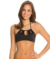 Peixoto Tamarin High Neck Halter Top