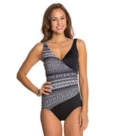 Maxine Diamond Girl Shirred Surplus One Piece