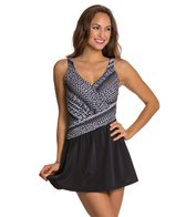 Maxine Diamond Girl Asymmetrical Swimdress