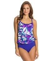 Maxine Baha Beauty Scoop Faux Tankini Top