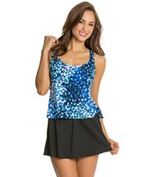 Maxine Feeling Blue Faux Swim Skirtini