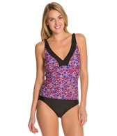 Maxine Ikat Forever Shirred Side One Piece