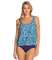 Maxine Ikat Forever Banded Tankini Top