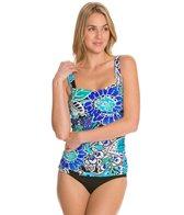Maxine Bali Floral Underwire Bandeau Bikini Top