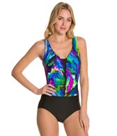 Maxine Wave Ride Ruffle One Piece