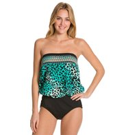 Maxine Borderline Bandeau Blouson One Piece