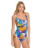 Maxine Mandalay Shirred Front Girl Leg One Piece