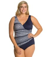 Maxine Plus Diamond Girl Surplus One Piece