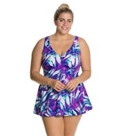 Maxine Plus Size Baha Beauty Swimdress