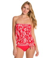 24th & Ocean Baroque My Heart Bandeau Blouson Top