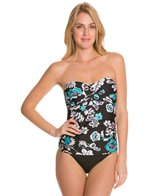 24th & Ocean Hanalei Twist Front Tankini Top