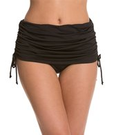 24th & Ocean Solid Rouched Skirt Bottom