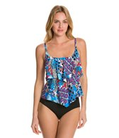 24th & Ocean Tribal Party Tiered Tankini Top