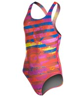 Arena Citrus Jr One Piece Swim Pro Back
