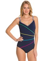 Sunmarin Flora Double Thin Strap One Piece