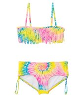 Billabong Girls' To Dye For Bandeau Set (4-14)