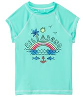 Billabong Girl's Rainbow Spot S/S Rashguard (4-14)