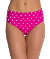 Beach Diva Hot Dot Classic High Waist Bottom