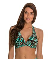 Beach Diva Cat Call Underwire Halter Top