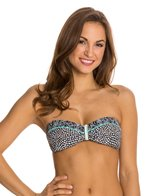 Beach Diva Set in Stone Bandeau Bikini Top