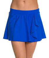 Beach Diva Solid Flounce Skirtini