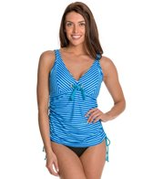 Maidenform Beach Twin Stripes Underwire D/DD/E Tankini Top