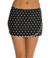 Maidenform Beach Hot Dot Skirtini Bottom